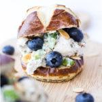 Blueberry Almond Tarragon Chicken Salad - My Chicago Kitchen