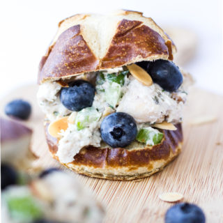 Blueberry Almond Tarragon Chicken Salad
