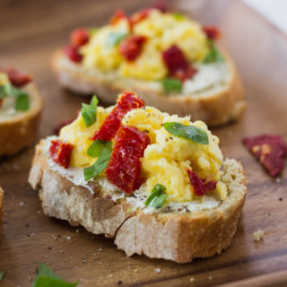 Italian Breakfast Bruschetta