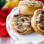 Raspberry Pistachio Pie Crust Cookies